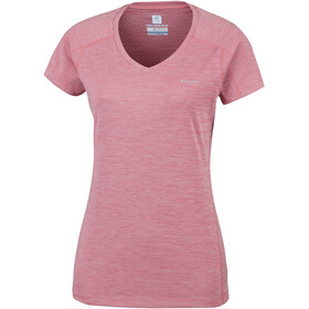 Columbia Zero Rules - T-shirt manches courtes Femme - rouge